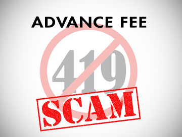 Advance Fee Scam